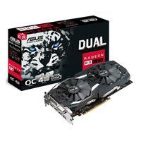 4GB ASUS Radeon RX 580 DUAL OC, 14nm Polaris, 2304 Streams, 1360MHz GPU, 7000MHz GDDR5, 2x DP/2x HDMI 2.0/DVI-D DL Best Price, Cheapest Prices