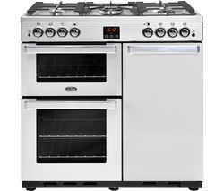 BELLING Gourmet 90G Professional Gas Range Cooker - Stainless Steel Best Price, Cheapest Prices