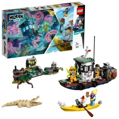LEGO Hidden Side Wrecked Shrimp Boat - 70419 Best Price, Cheapest Prices