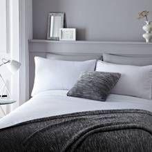Serene Pom Pom White Bedding Set - Superking Best Price, Cheapest Prices