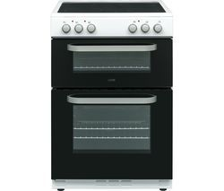 LOGIK LDOC60W17 Electric Cooker - Black & White Best Price, Cheapest Prices