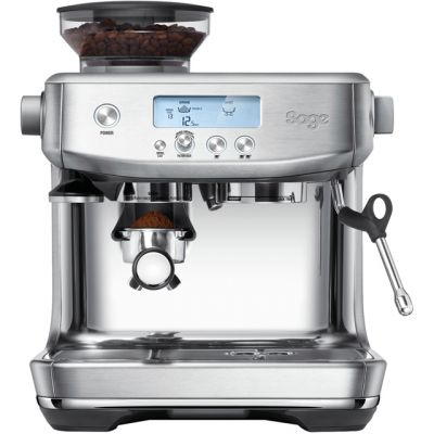 Sage The Barista Pro SES878BSS Espresso Coffee Machine with Integrated Burr Grinder - Brushed Stainless Steel Best Price, Cheapest Prices