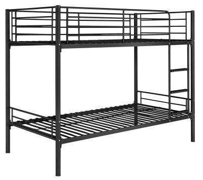 Argos Home Mason Black Metal Bunk Bed Frame Best Price, Cheapest Prices