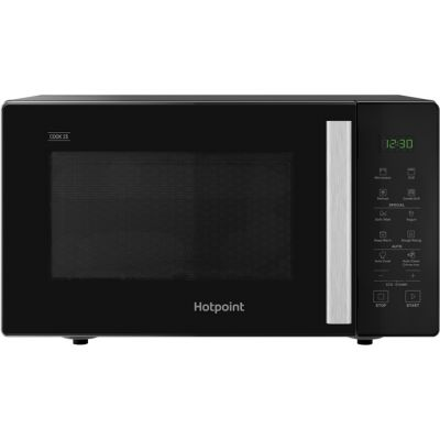 Hotpoint COOK 25 MWH253B 25 Litre Microwave With Grill - Black Best Price, Cheapest Prices