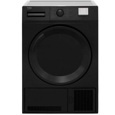 Beko DTGC7000B 7Kg Condenser Tumble Dryer - Black - B Rated Best Price, Cheapest Prices