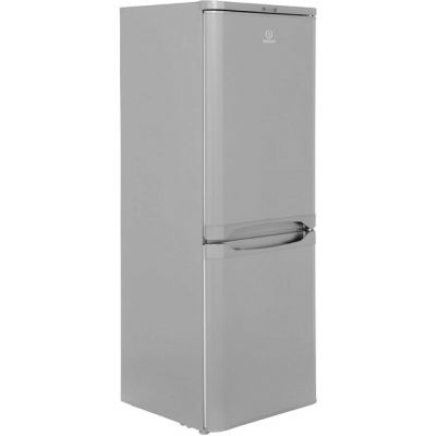 Indesit IBD5515S 60/40 Fridge Freezer - Silver - A+ Rated Best Price, Cheapest Prices