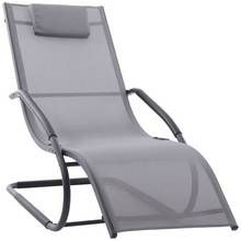 Wave Lounger- Grey on Matte Black Best Price, Cheapest Prices