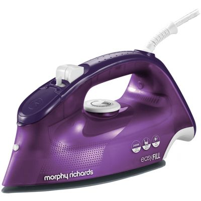 Morphy Richards 300282 2400 Watt Iron -Purple Best Price, Cheapest Prices