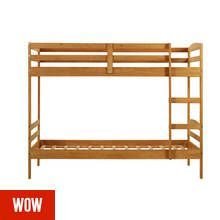 Argos Home Josie Natural Shorty Bunk Bed Frame Best Price, Cheapest Prices
