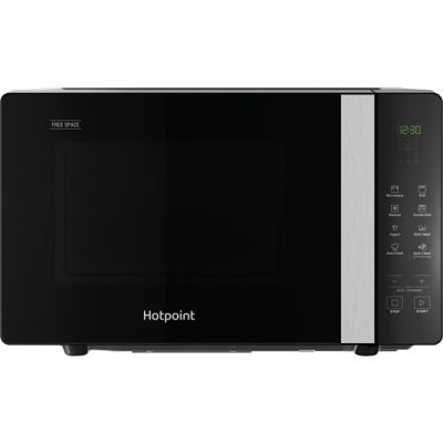 Hotpoint FREE SPACE MWHF203B 20 Litre Microwave With Grill - Black Best Price, Cheapest Prices