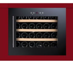BAUMATIC BWC455BGL Built-in Wine Cooler - Black Best Price, Cheapest Prices