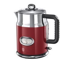 RUSSELL HOBBS Retro 21670 Jug Kettle - Red Best Price, Cheapest Prices