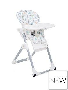 Joie Joie Mimzy 2 in 1 Highchair- Pastel Forest Best Price, Cheapest Prices