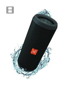 JBL Flip 4 Wireless Bluetooth Waterproof Speaker with Call handling and up to 12 hours Playtime - Black Best Price, Cheapest Prices