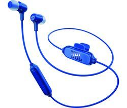 JBL E25BT Wireless Bluetooth Headphones - Blue Best Price, Cheapest Prices