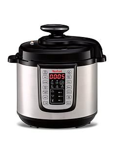 Tefal All-in-One Electric Pressure Cooker with hinged lid-Stainless Steel andBlack Best Price, Cheapest Prices