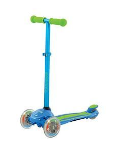 U Move U Flex LED Tilt Scooter – Blue/Green Best Price, Cheapest Prices