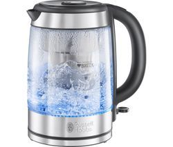 RUSSELL HOBBS Purity Jug Kettle - Glass Best Price, Cheapest Prices