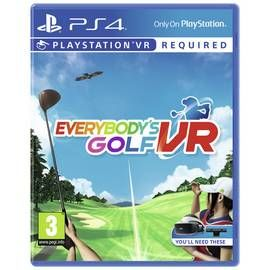 Everybody's Golf PS VR Game (PS4) Best Price, Cheapest Prices