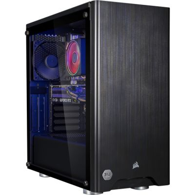3XS Halo Gamer 2060 RGB Gaming Tower - Black Best Price, Cheapest Prices