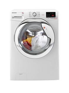 Hoover Dynamic NextDXOA610HCW 10kgLoad,1600Spin Washing Machine with One Touch - White/Chrome Best Price, Cheapest Prices