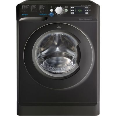 Indesit BWE91484XKUK 9Kg Washing Machine with 1400 rpm - Black - A+++ Rated Best Price, Cheapest Prices