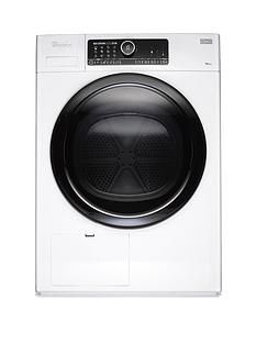 Whirlpool Supreme Care HSCX10431 10kg Heat Pump Tumble Dryer - White Best Price, Cheapest Prices