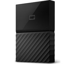 WD My Passport Portable Hard Drive - 2 TB, Black Best Price, Cheapest Prices