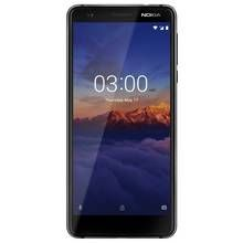 SIM Free Nokia 3.1 16GB Mobile Phone - Black/Silver Best Price, Cheapest Prices