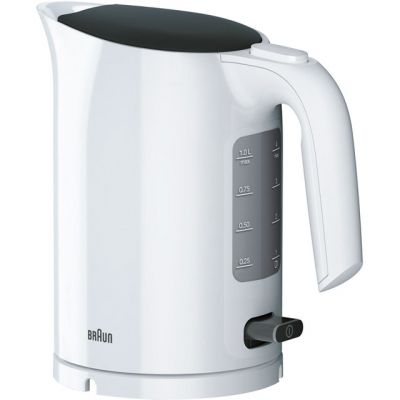 Braun PurEase Series 3 WK3110WH Kettle - White Best Price, Cheapest Prices