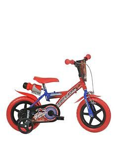 Spiderman Ultimate 12 inch Dino Bike Best Price, Cheapest Prices