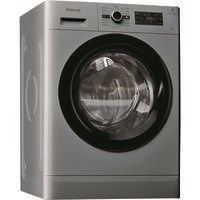 Whirlpool FWG81496S Freshcare 8kg 1400rpm Freestanding Washing Machine - Silver Best Price, Cheapest Prices