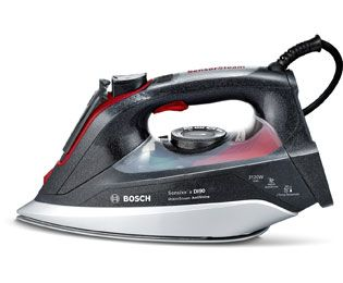 Bosch Sensixx'x DI90 AntiShine TDI9020GB 3120 Watt Iron -Anthracite / Red Best Price, Cheapest Prices
