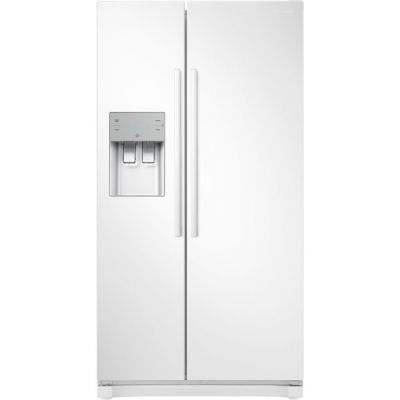 Samsung RS3000 RS50N3513WW American Fridge Freezer - White - A+ Rated Best Price, Cheapest Prices