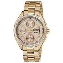 Citizen Eco-Drive Ladies' Rose Multidial Bracelet Watch Best Price, Cheapest Prices