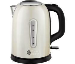 RUSSELL HOBBS Cavendish 25502 Jug Kettle - Cream Best Price, Cheapest Prices