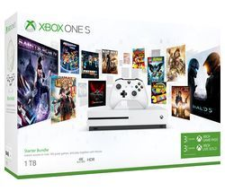 MICROSOFT Xbox One S with 3 Month Game Pass & Live Gold Membership - 1 TB Best Price, Cheapest Prices