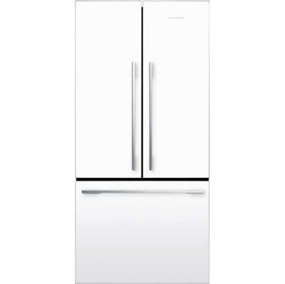 Fisher & Paykel Designer ActiveSmart RF522ADW4 American Fridge Freezer - White - A+ Rated Best Price, Cheapest Prices