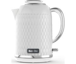 BREVILLE Curve VKT117 Jug Kettle - Chrome White Best Price, Cheapest Prices