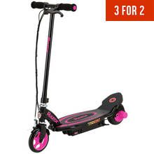 Razor Power Core E90 Electric Scooter - Pink Best Price, Cheapest Prices