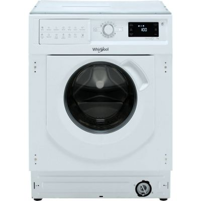 Whirlpool BIWMWG71253UK Integrated 7Kg Washing Machine with 1200 rpm - A+++ Rated Best Price, Cheapest Prices
