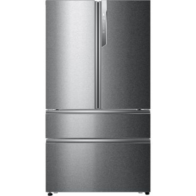 Haier HB26FSSAAA American Fridge Freezer - Stainless Steel - A++ Rated Best Price, Cheapest Prices