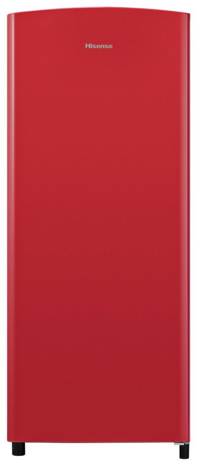 Hisense RR220D4AR21 Tall Fridge - Red Best Price, Cheapest Prices
