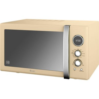 Swan Retro Digital SM22080CN 25 Litre Combination Microwave Oven - Cream Best Price, Cheapest Prices