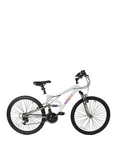Muddyfox Inspire Dual Suspension Ladies Mountain Bike 16 inch Frame Best Price, Cheapest Prices