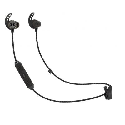 JBL Under Armour React In- Ear Wireless Headphones -Black Best Price, Cheapest Prices