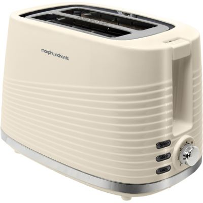 Morphy Richards Dune 220027 2 Slice Toaster - Cream Best Price, Cheapest Prices