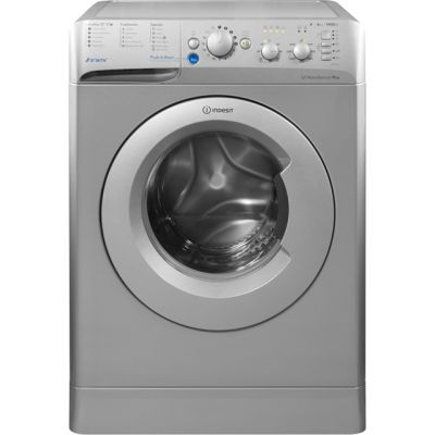Indesit Innex BWC61452SUK 6Kg Washing Machine with 1400 rpm - Silver - A++ Rated Best Price, Cheapest Prices
