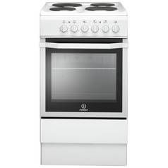 Indesit IS5E4KHW Electric Cooker - White Best Price, Cheapest Prices