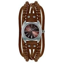 Kahuna Ladies' Brown Bead Multi Thong Watch Best Price, Cheapest Prices